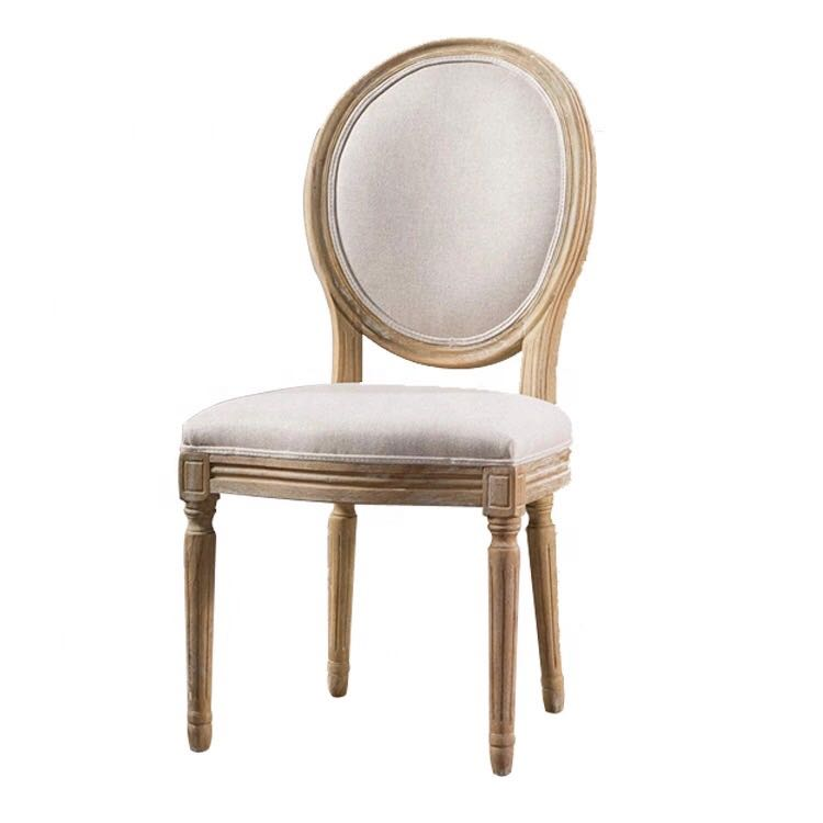Louis Xvi Style wood Dining Chair