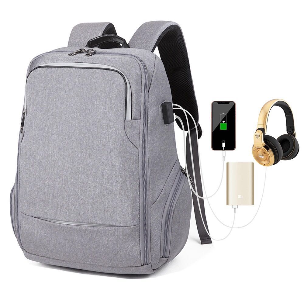 Hot new products waterproof backpack usb laptop